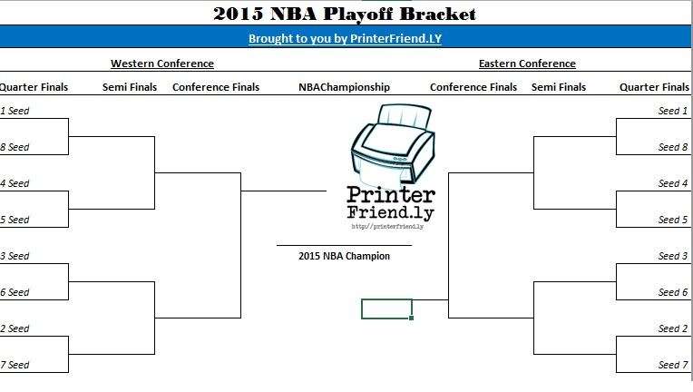 2015 NBA Playoff Bracket