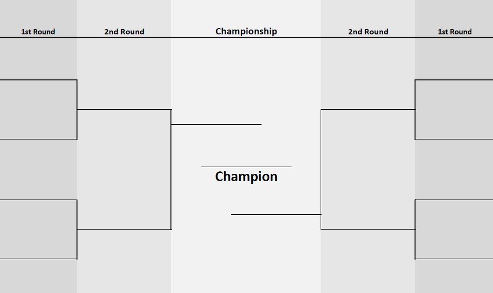 8 team bracket template 8 teams two sided bracket printerfriendly