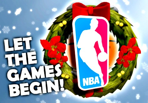 NBA games on Christmas Day