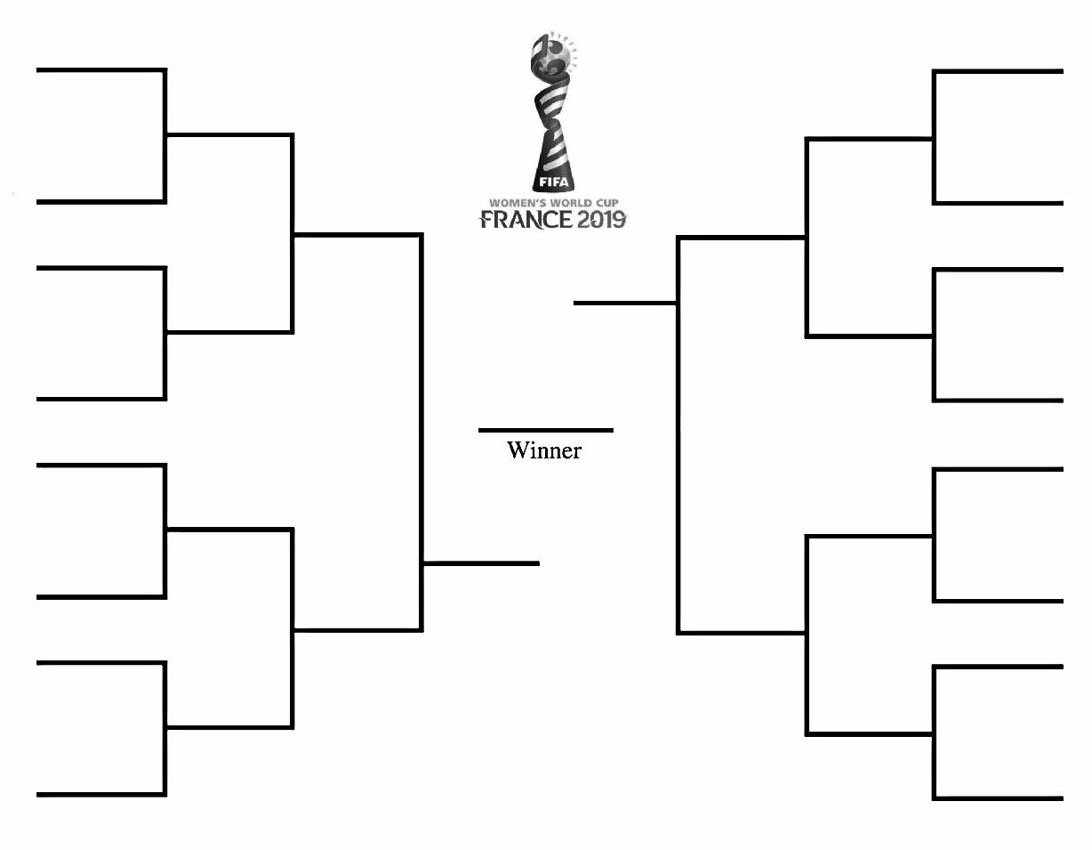 picture about Women's World Cup Schedule Printable known as Print the FIFA Womens World-wide Cup Bracket for 2019 Football